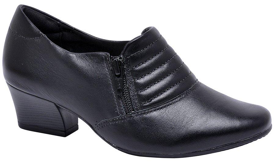 68f74d676 Sapato Feminino Comfortflex 1695304 Preto