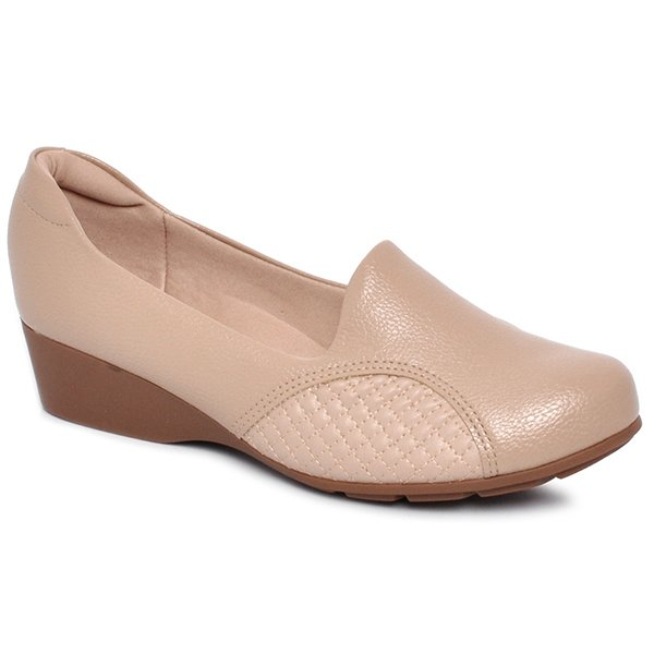 e327fcaa3 Sapato Feminino Modare 7014129 Bege