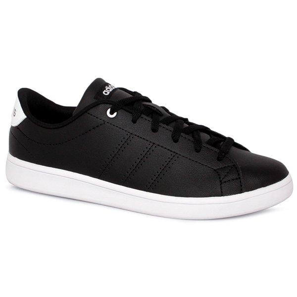 Tênis Adidas Advantage Clean QT DB1370 Preto 4f35fd2553d54