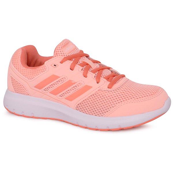 c4f784e5417 Tênis Adidas Duramo Lite B75585 Coral Branco