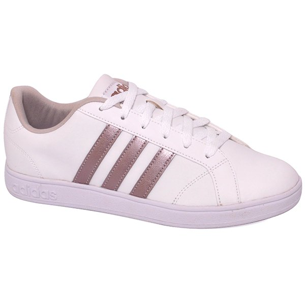 323eaf1195 Tênis Adidas Vs Advantage Aw3865 Branco Rose