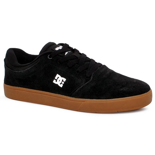 f6b74579be8 Tênis Dc Shoes Crisis La ADYS100029L Preto Branco Marrom