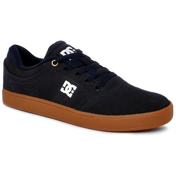 Tênis Dc Shoes Crisis Txla Adys100066l Azul Marinho Marrom c60e50a82b02b