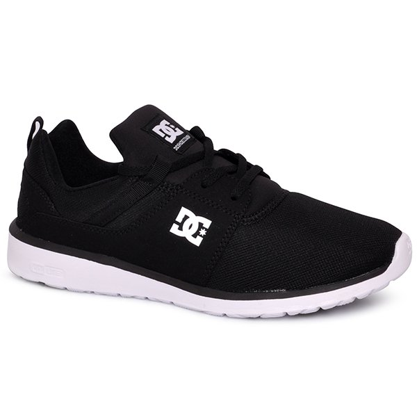 20ab1077914a4 Tênis Dc Shoes Heathrow Adys700071 Preto Branco