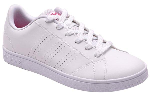 Imagem - Tênis Feminino Adidas Advantage Clean B74574 Branco -  001059300220005 4fc39164d4c0a