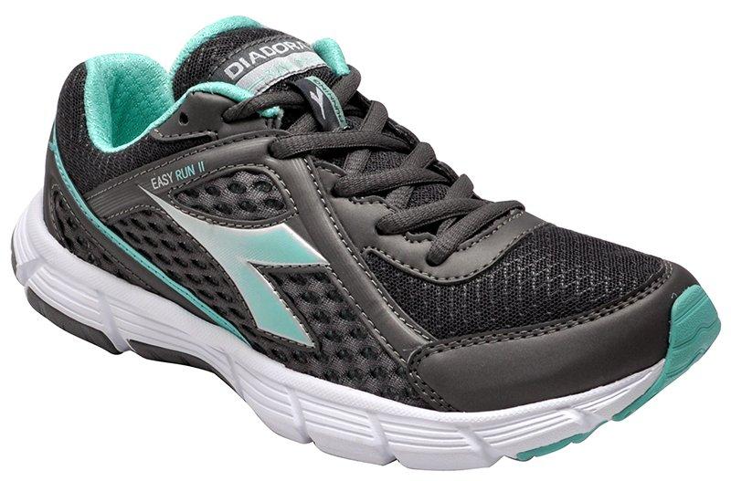 Tênis Feminino Diadora Easy Run 2 125507 Graphite Green bd8ec38650fd6