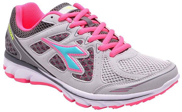 9650dd194c Imagem - Tênis Feminino Diadora Power W C3329 Silver Pink - 001003300061538