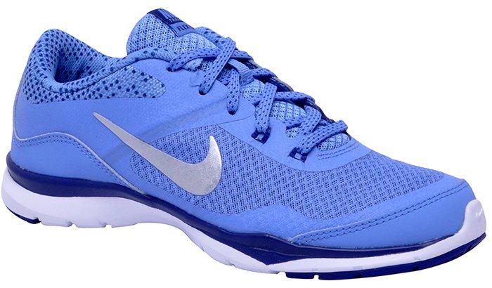 31d9f598d2c Tênis Feminino Nike Flex Trainer 5Print 749184-405 Blue Royal