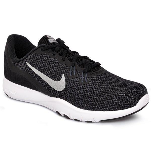 T 234 Nis Feminino Nike Flex Trainer 7 898479 001 Preto Cinza