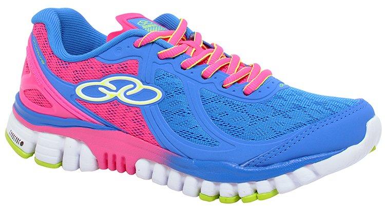 185a5034d6f Tênis Feminino Olympikus Involve 195 Blue Pink