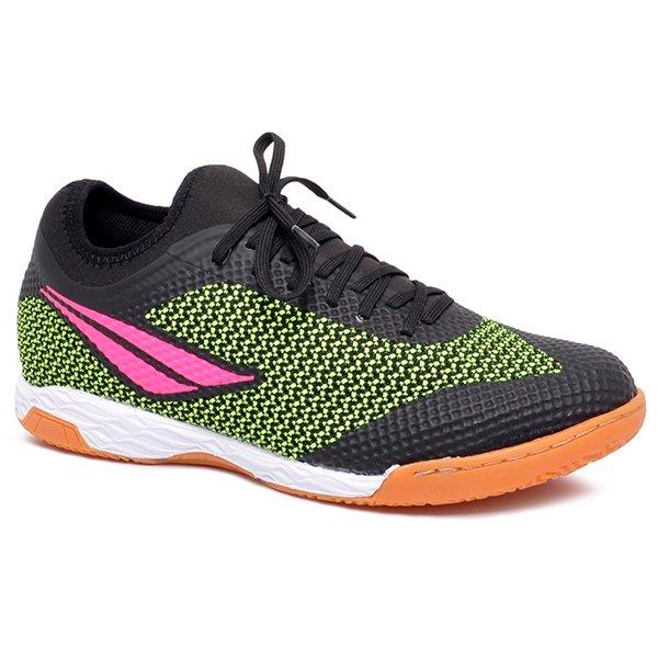 a2936a5422 Tênis Futsal Penalty Max 500 IX 1241859767 Preto Amarelo Pink