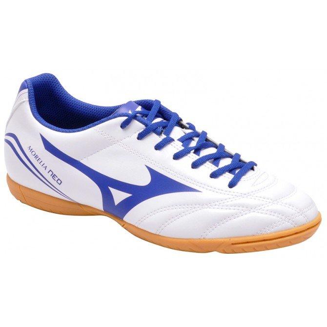 e3705689f6b88 Tênis Indoor Masculino Mizuno Morelia Neo Club 4133144 Branco
