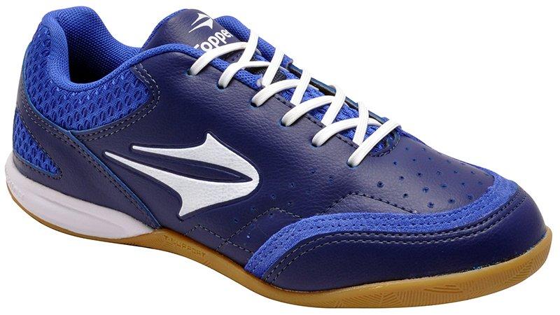 e469725e49 Tênis Indoor Masculino Topper Maestro Azul Marinho Azul Branco
