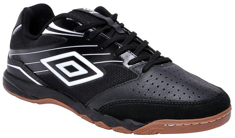 4c12e1a032 Tênis Indoor Masculino Umbro Pro 3 OF72056 Preto-Branco