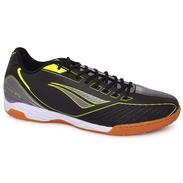 9e57f517c6 Tênis Indoor Penalty Digital VIII Chumbo Preto Amarelo