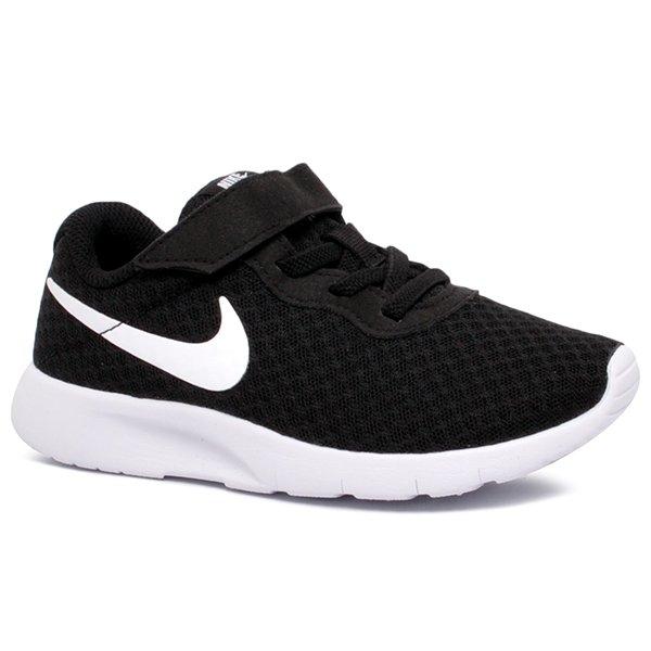 17e06538b26 Tênis Infantil Nike Tanjun 844868-011 Preto Branco