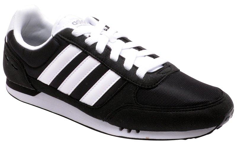 a3709fe8783 Tênis Masculino Adidas Neo City Racer F99329 Black White