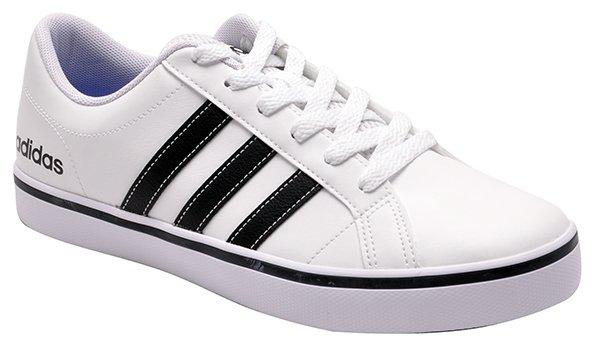 a300c5610c6 Tênis Adidas Vs Pace Aw4594 Branco Preto