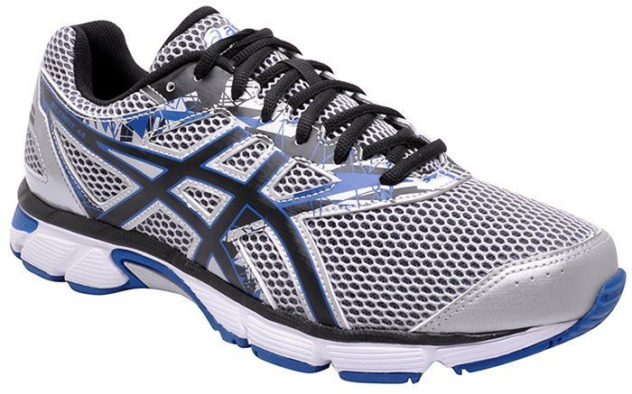 d27cf33514fc1 Tênis Masculino Asics Gel-Excite 4a Silver Black Imperial Gel-Excite ...