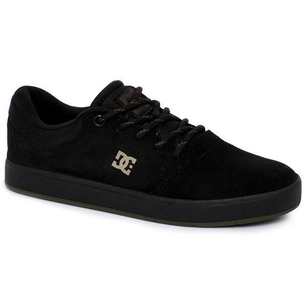 Tênis Masculino Dc Shoes Crisis Sela Adys100284l Preto Verde 442c929347dc3