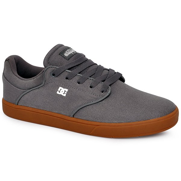 3fcb09b65ef Tênis Masculino Dc Shoes Mikey Taylor Stxla 320350l Cinza Marrom