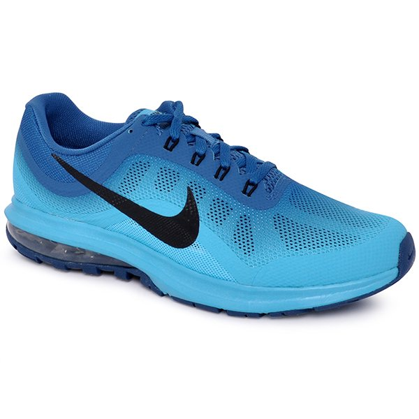 a91a69367dfb1 Tênis Masculino Nike Air Max Dynasty 2 852430-403 Azul Preto