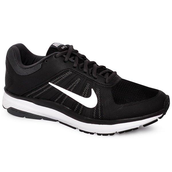 Tênis Masculino Nike Dart 12 Msl 831533-001 Preto Branco 7644398a573e0