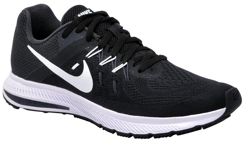 a6dbfb83a5 Tênis Masculino Nike Zoom Winflo 2 807276-001 Black White