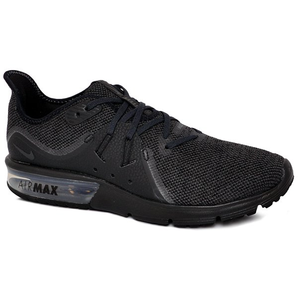 san francisco 18207 06370 Tênis Nike Air Max Sequent 3 921694-010 PretoChumbo