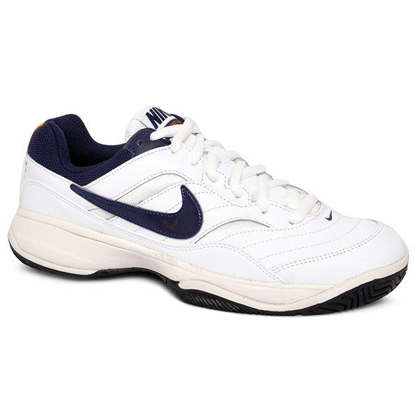 Tênis Nike Court Lite 845021-180 Branco Azul Marinho 19904d8564d71