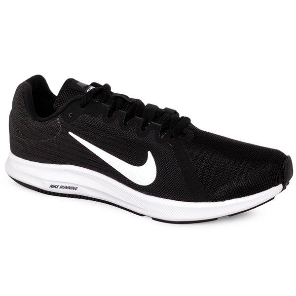 47c4e855604 Tênis Nike Downshifter 8 908994-001 Preto Branco