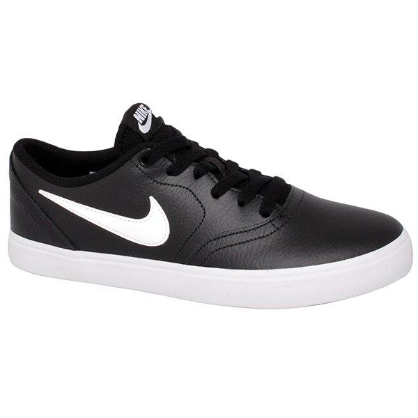 81dfe45e8d0 Tênis Nike Sb Check Solar 843895-006 Preto Branco