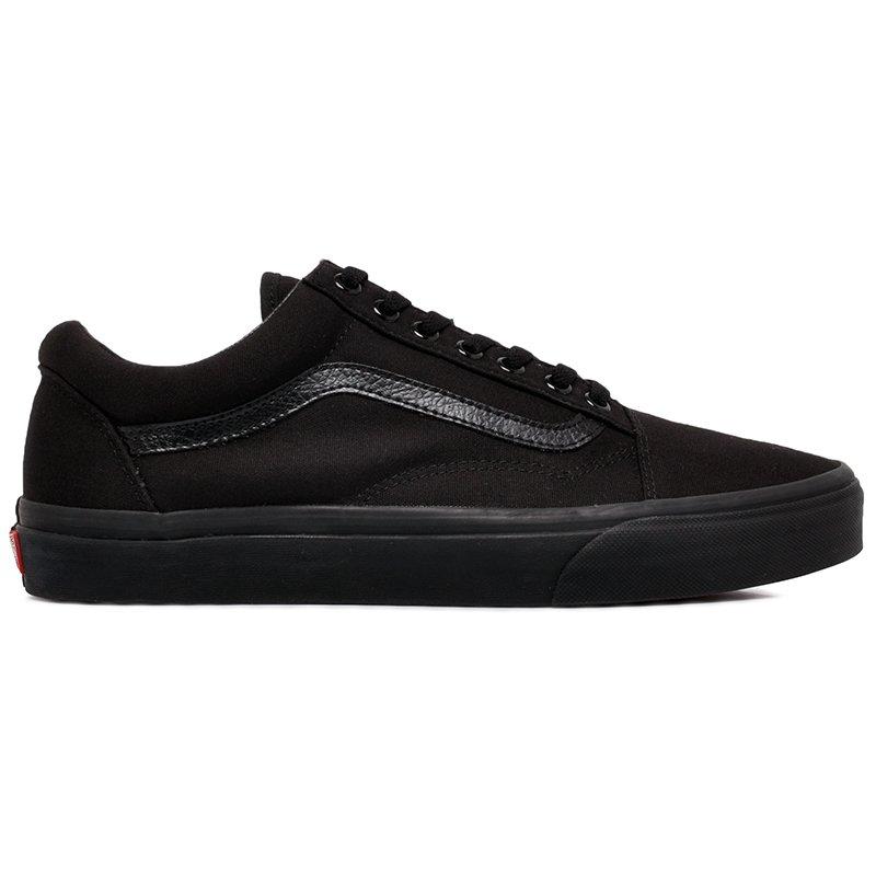 43b9737d0a9 Tênis Vans Old Skool VN000D3HBKA Black Black