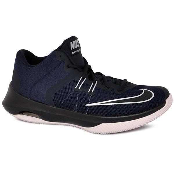 90502f27735 Tênis Bota Nike Air Versitile 2 921692-401 Azul Marinho Cinza