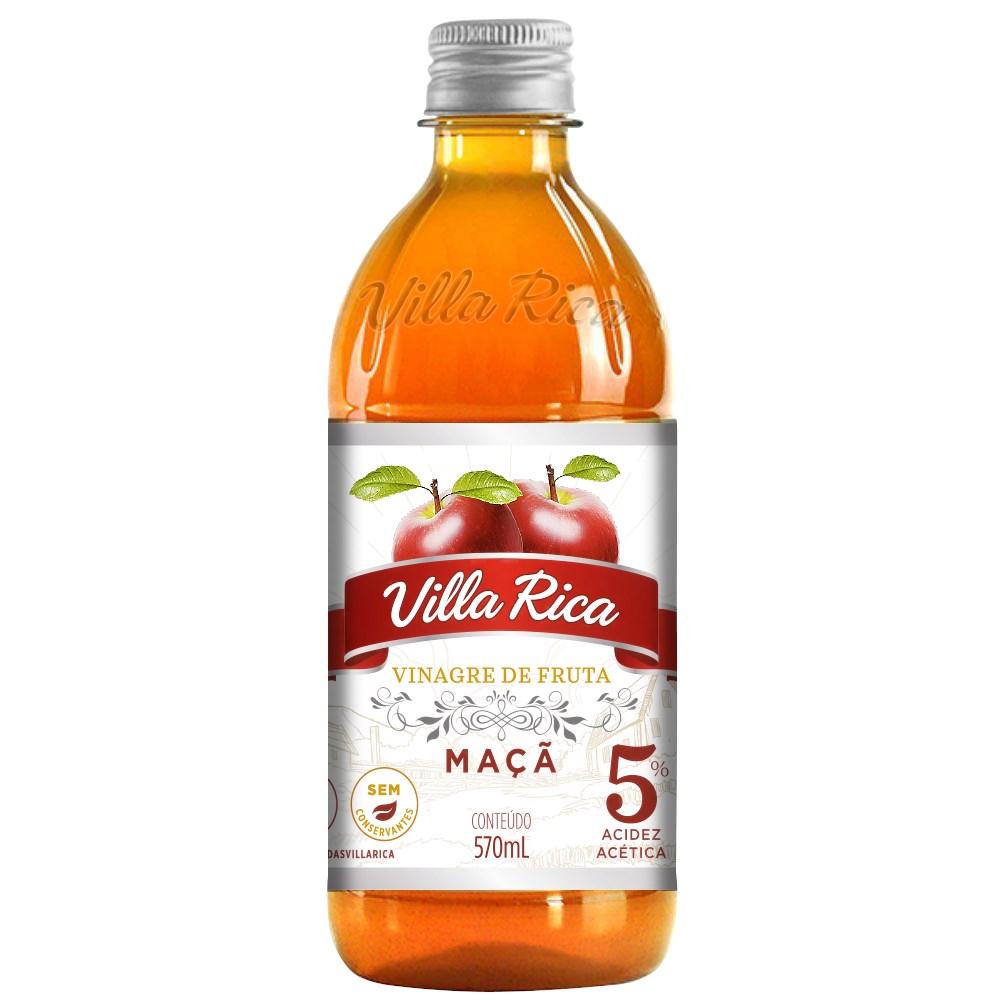 Imagem - VINAGRE DE MAÇÃ 5% 570ML - VILLA RICA