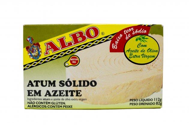 Imagem - ATUM SOLIDO EM AZEITE ALBO 82G
