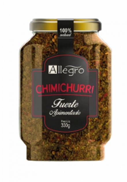 CHIMICHURRI ALLEGRO - FORTE / APIMENTADO 330ml