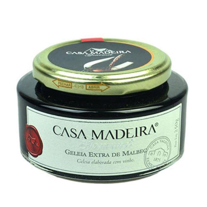 Imagem - GELÉIA EXTRA DE MALBEC - CASA MADEIRA - 240g