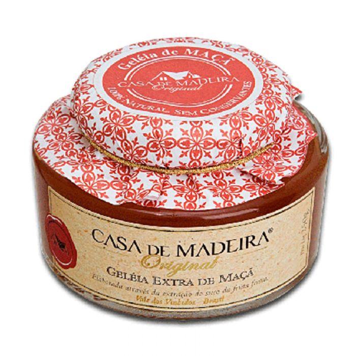 Imagem - GELÉIA ORIGINAL MAÇÃ - CASA MADEIRA - 240g