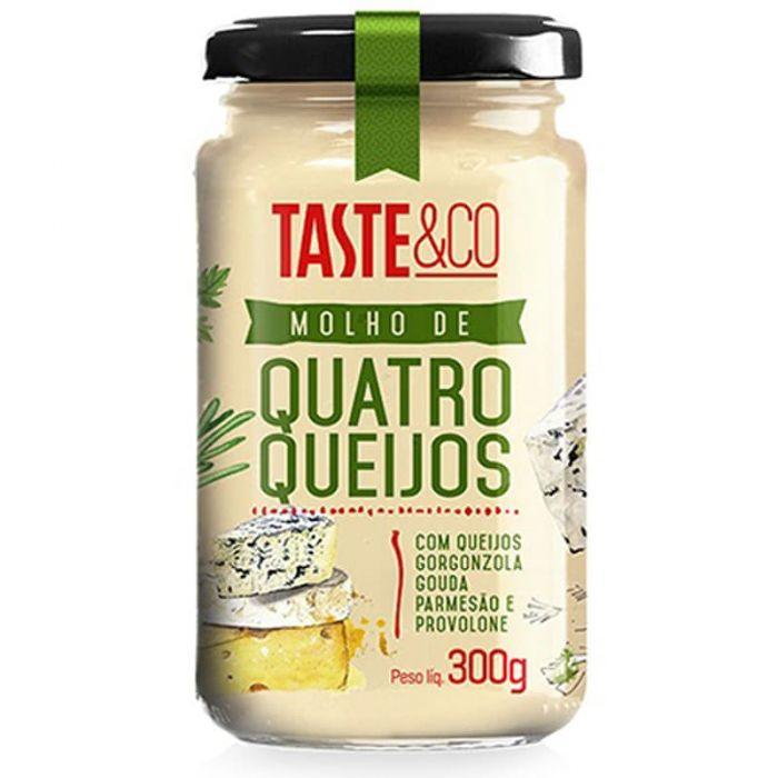 Imagem - MOLHO DE QUATRO QUEIJOS - TASTE & CO - 300g