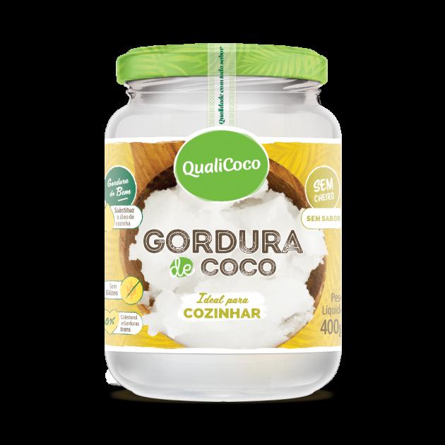 Imagem - GORDURA DE COCO - QUALICOCO - 400g