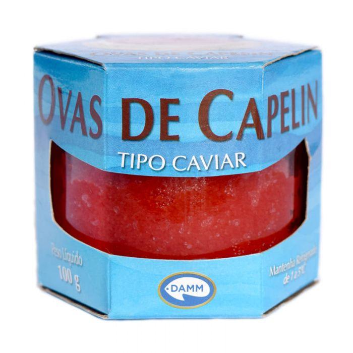 Imagem - OVAS DE CAPELIN VERMELHA - TIPO CAVIAR - DAMM