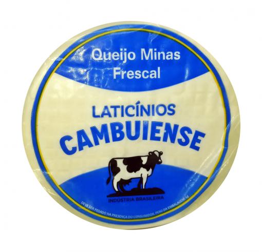 Imagem - QUEIJO MINAS PADRÃO - CAMBUIENSE- 490g