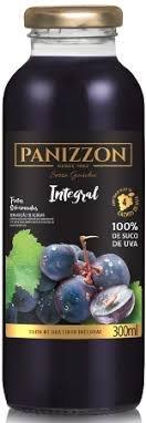 Imagem - SUCO DE UVA TINTO INTEGRAL PANIZZON 300ml