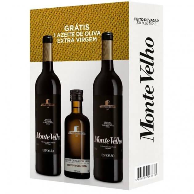 Imagem - Vinho Monte Velho Tinto C/ 2 X 750ml + 1 Azeite Esporão 250ml
