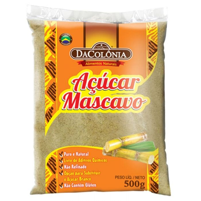 Imagem - AÇUCAR MASCAVO - DA COLÔNIA - 500g