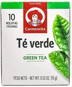 Imagem - CHÁ VERDE CARMENCITA 15g