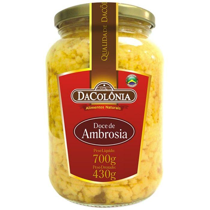 Imagem - DOCE DE AMBROSIA - DA COLÔNIA