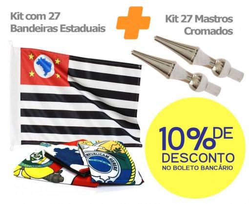 27 Mastros + 27 Bandeiras