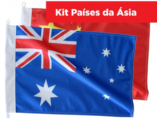 Kit Continente Asia